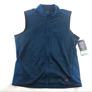 New Oakley Hydrolix Range Vest Large Full Zip